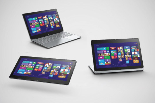 the Multi-Functional VAIO series: Uncompromising notebook experience for productive work and play