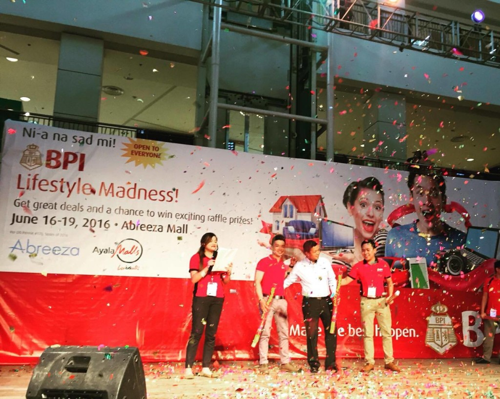 BPI  Lifestyle Madness, now on its 2nd year in Davao