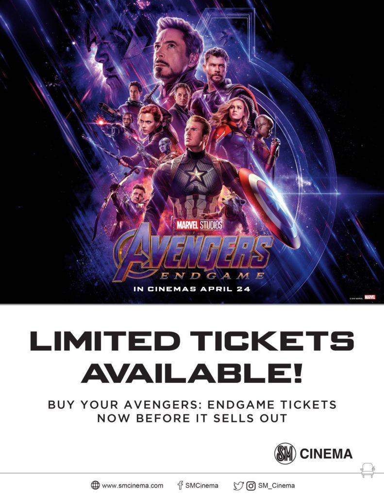 sm cinema opens 333 screens for avengers: endgame across ph